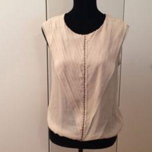 Embellished Silk Blouse